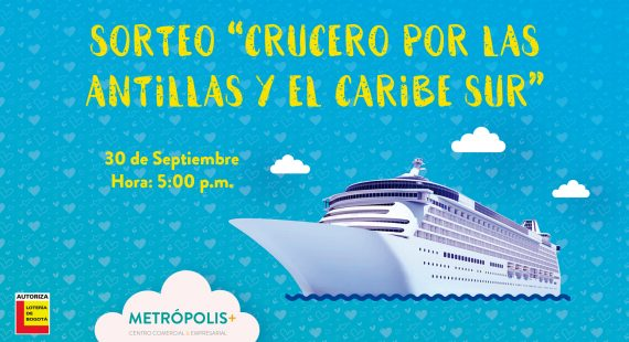 Sorteo Crucero por las Antillas y el Caribe Sur