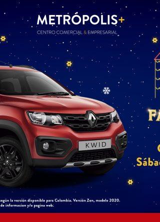 Sorteo Navidad Fantástica Renault KWID 2020