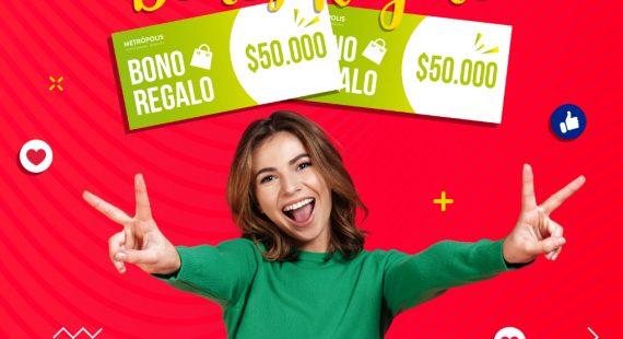Bonos Regalo por $50.000